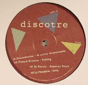 DISCODROMO/FRATELLI RIVIERA/DJ ROCCA/LE MACCHINE - Italian Dance Wave Disco Tre