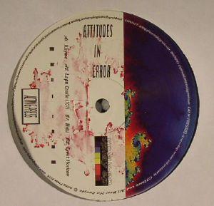 ATTITUDES IN ERROR - Vplay EP