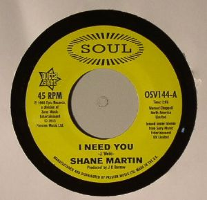 MARTIN, Shane/TAJ MAHAL - I Need You