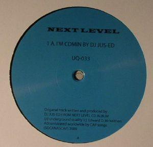 DJ JUS ED - I'm Comin (reissue)