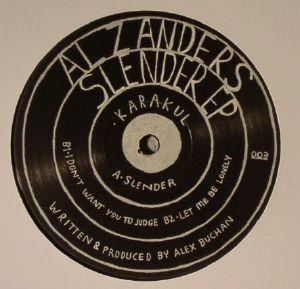 ZANDERS, Al - Slender EP
