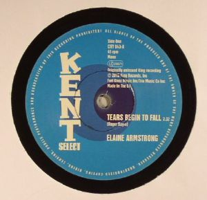ARMSTRONG, Elaine/BETTY MOORER - Tears Begin To Fall (mono)