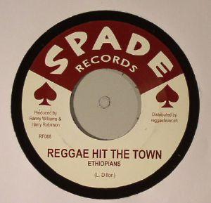 ETHIOPIANS/DELROY WILSON - Reggae Hit The Town