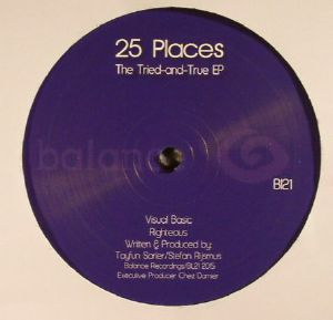 25 PLACES - The Tried & True EP