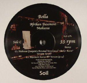 CLAUSSELL, Joaquin Joe presents BOLLA - Afrikan Basement Vinyl 2: Unreleased Extended Versions
