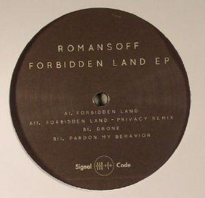 ROMANSOFF - Forbidden Land EP