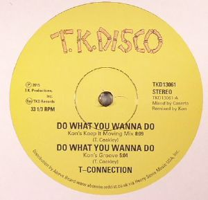 T CONNECTION/JIMMY McGRIFF - Do What You Wanna Do