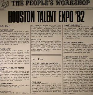 PEOPLE'S WORKSHOP, The - Houston Talent Expo '82