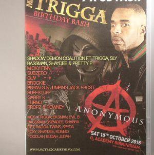 MC TRIGGA/VARIOUS - MC Trigga's Birthday Bash 2015: Sat 10th October 2015 02 Academy Birmingham