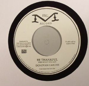 CARLESS, Donovan - Be Thankful For What You Got