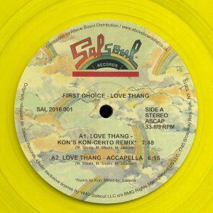 FIRST CHOICE - Love Thang (reissue)