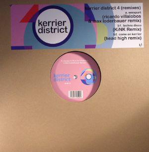 KERRIER DISTRICT aka LUKE VIBERT - Kerrier District 4 (remixes)