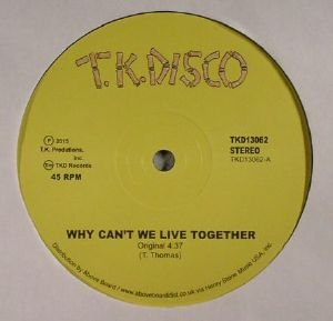 THOMAS, Timmy - Why Can't We Live Together