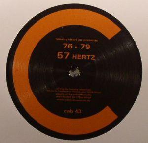 VICARI JNR, Tommy presents 76 - 79 - 57 Hertz