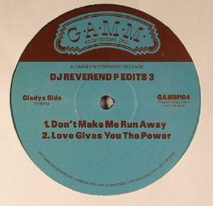 DJ REVEREND P - Edits 3