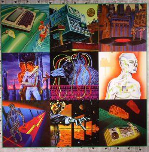 KID MACHINE/TOMMY WALKER 3/ALAN DENTE/STARION - Red Laser Records EP 8
