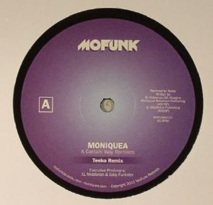 MONIQUEA - A Certain Way (remixes)