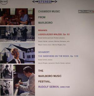 BRAHMS/SCHUBERT - Chamber Music From Marlboro