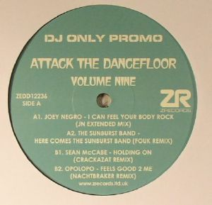NEGRO, Joey/THE SUNBURST BAND/SEAN McCABE/OPOLOPO - Attack The Dancefloor Volume Nine