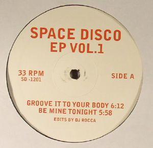 DJ ROCCA & MOPLEN - Space Disco EP Vol 1