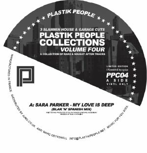 PARKER, Sara/RUSHARN/MASTERS OF THE UNDERGROUND - Plastik People Collections Volume Four