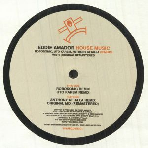 AMADOR, Eddie - House Music (remixes)