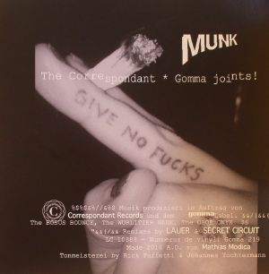 MUNK - The Correspondant Gomma Joints!