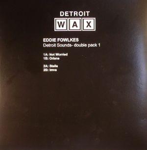 FOWLKES, Eddie - Detroit Sounds - Double Pack 1