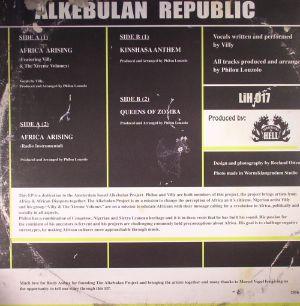LOUZOLO, Philou - Alkebulan Republic