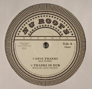ROMEO, Max/ROLLING LION STUDIO/LEE PERRY/VIN GORDON - Give Thanks (Record Store Day 2016)