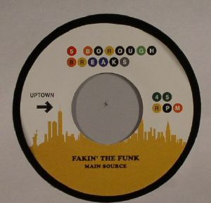 MAIN SOURCE/THE MAIN INGREDIENT - Fakin' The Funk