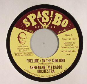 ARMENIAN TV & RADIO ORCHESTRA - Prelude/In The Sunlight