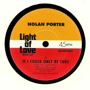 PORTER, Nolan - If I Could Only Be Sure