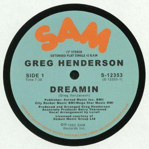 HENDERSON, Greg - Dreamin