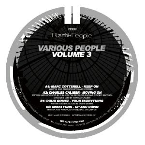 COTTERELL, Marc/CHARLES CALIBER/DOUG GOMEZ/MIKKI FUNK - Various People Volume 3