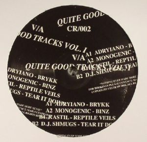 ADRYIANO/MONOGENIC/KASTIL/DJ SHMUGS - Quite Good Tracks Vol 1