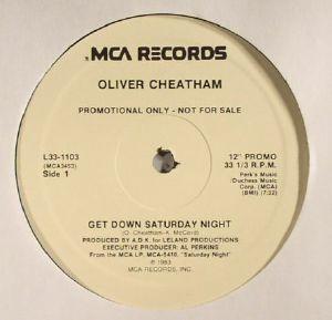 CHEATHAM, Oliver - Get Down Saturday Night