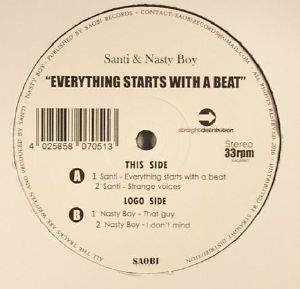 SANTI/NASTY BOY - Everything Starts With A Beat