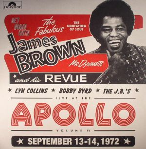 BROWN, James/VARIOUS - Get Down With James Brown: Live At The Apollo Vol IV