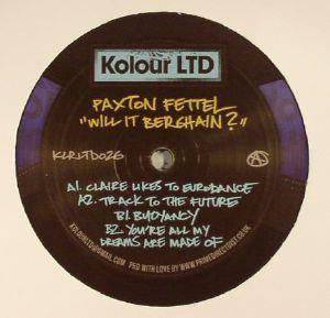 FETTEL, Paxton - Will It Berghain?