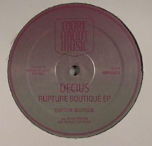 DECIUS - Rupture Boutique EP
