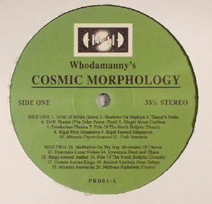 WHODAMANNY - Cosmic Morphology