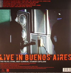 The Police Certifiable Live In Buenos Aires Vinyl At Juno