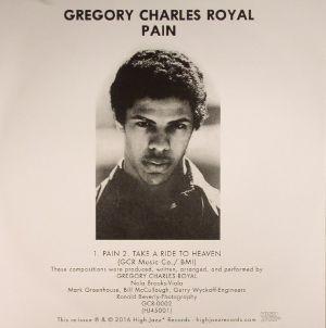 CHARLES ROYAL, Gregory - Pain