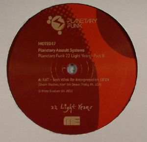 PLANETARY ASSAULT SYSTEMS - Planetary Funk 22 Light Years Series: Part 2