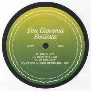 SAN GIOVANNI BASSISTA - Don't Go