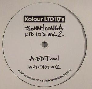 CONGA, Jonny - Ltd 10's Vol 2