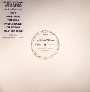 MR K/ALEX FROM TOKYO/DANIEL WANG/JACQUES RENAULT/TOM NOBLE/THE REVENGE - Most Excellent Breaks Beats & Loops Vol 1