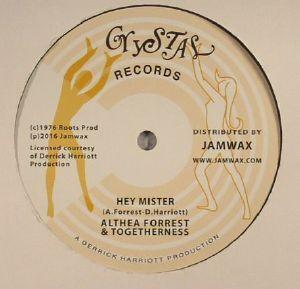 FORREST, Althea & TOGETHERNESS - Hey Mister