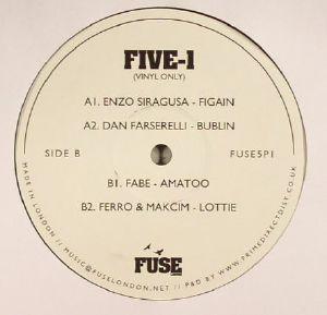 SIRAGUSA, Enzo/DAN FARSERELLI/FABE/FERRO & MACKIM - FIVE 1 (vinyl only)